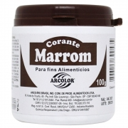 CORANTE PO 100 GR (MARRON)
