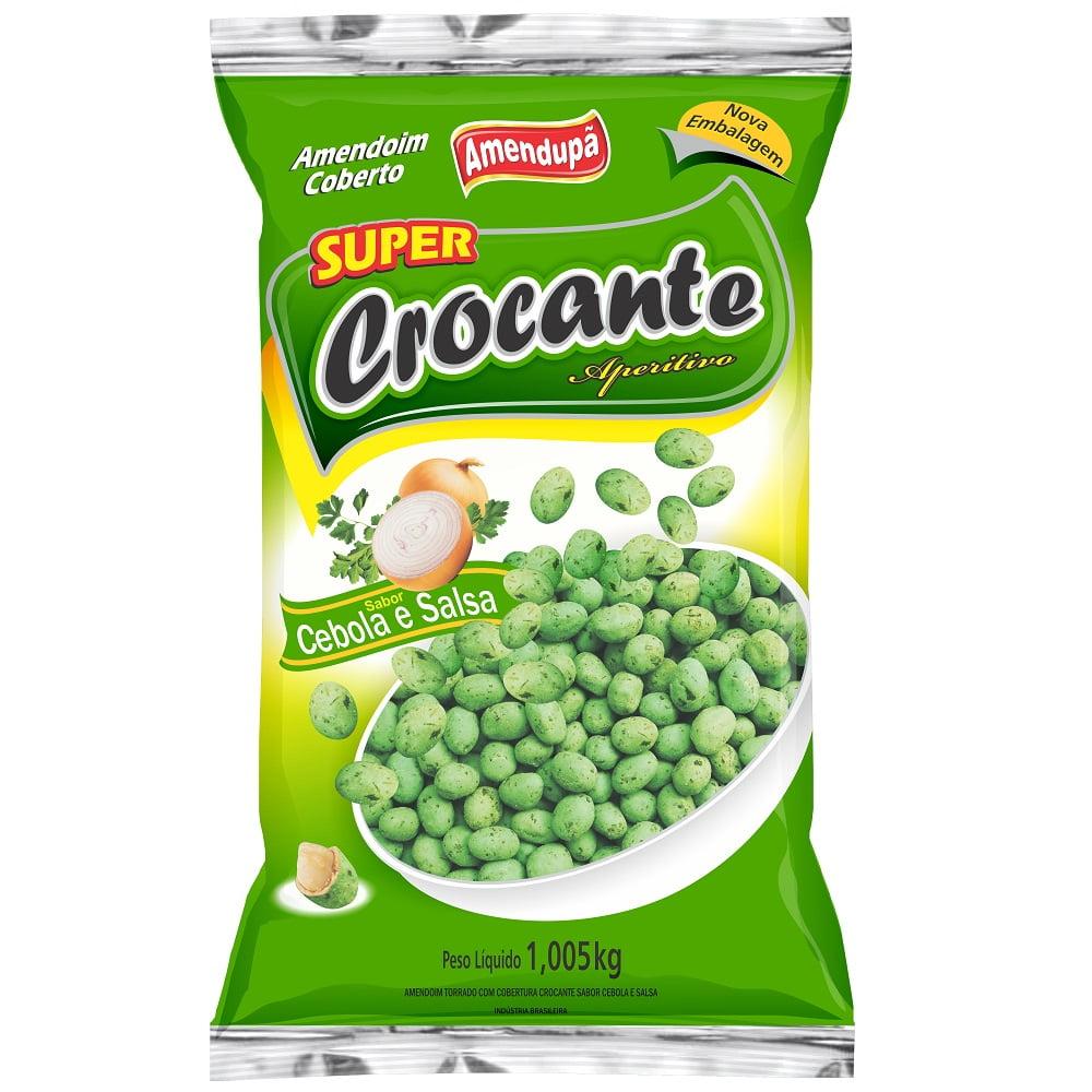 AMENDOIM CROCANTE CEBOLA/SALSA 1.005 KG