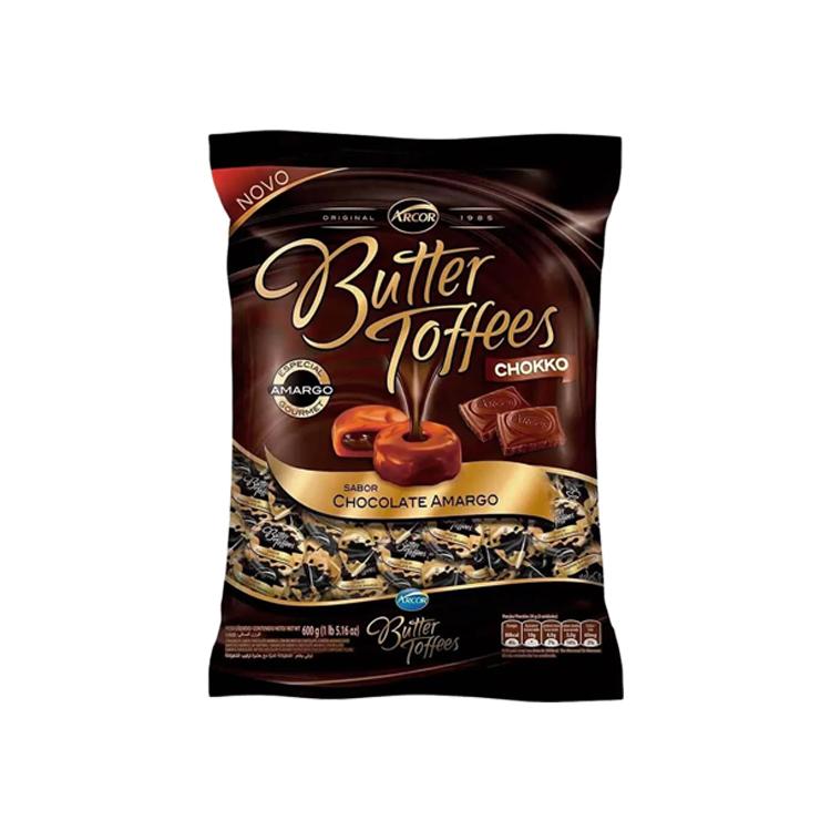 BALA BUTTER TOFFEES MEIO AMARGO C/500G