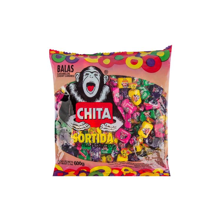 BALA CHITA SORTIDA C/600GR