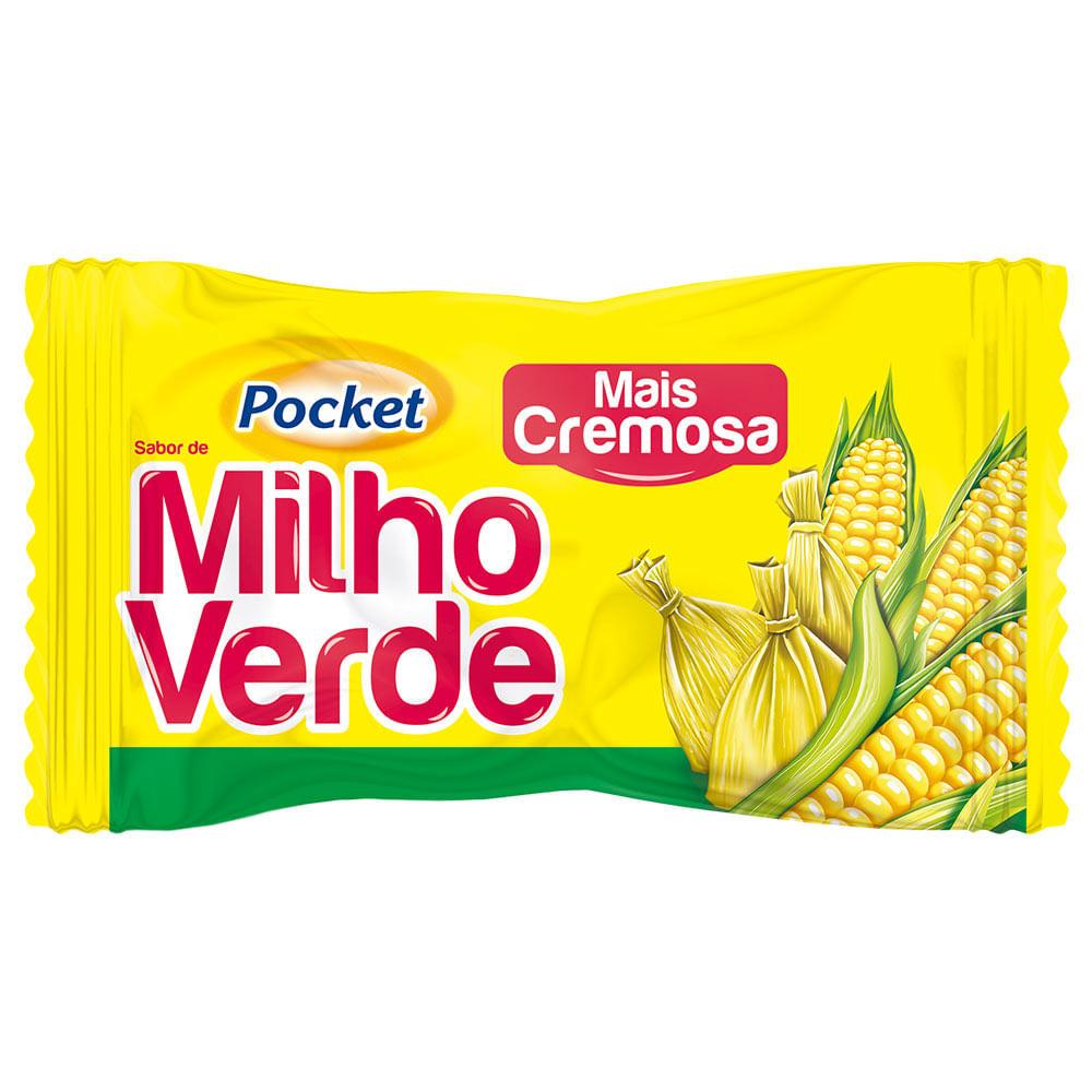 BALA DURA POCKET MILHO VERDE 500 GR