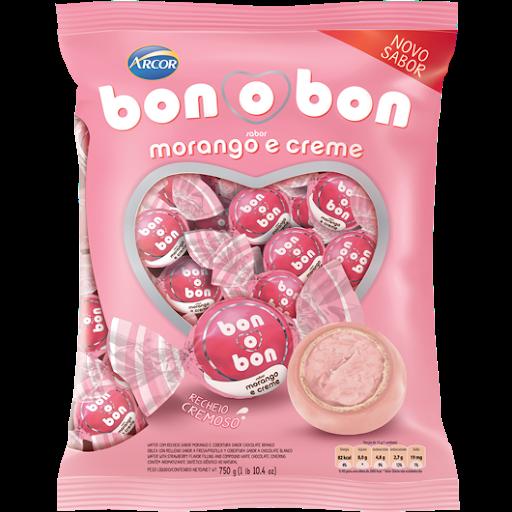 BONOBON MORANGO C/ 750G
