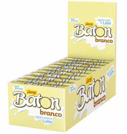 CHOC. BATON BRC C/30 UNID