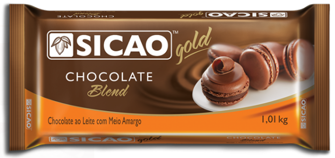 CHOCOLATE GOLD BARRA BLEND  1,01 KG