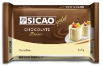 CHOCOLATE GOLD BARRA BRANCO  2,1 KG
