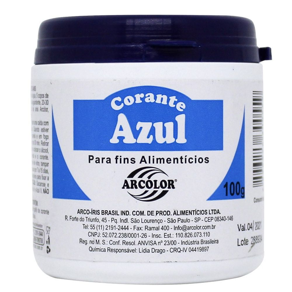 CORANTE PO 100 G (AZUL)