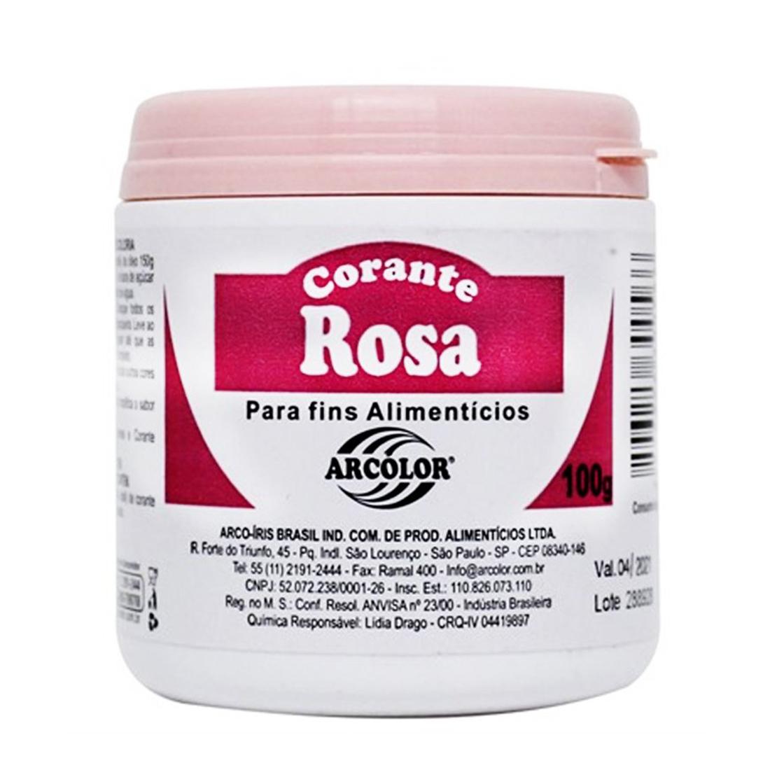 CORANTE PO 100 G (ROSA NOBRE)