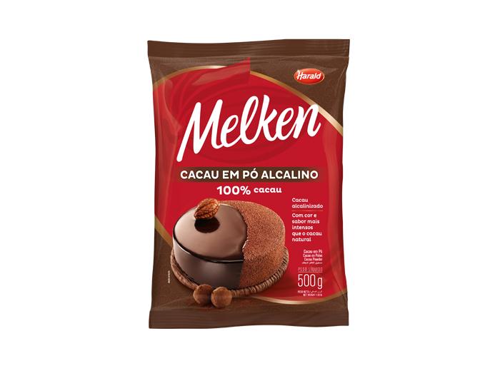 H. MELKEN CACAU EM PO 100% 500G 102551