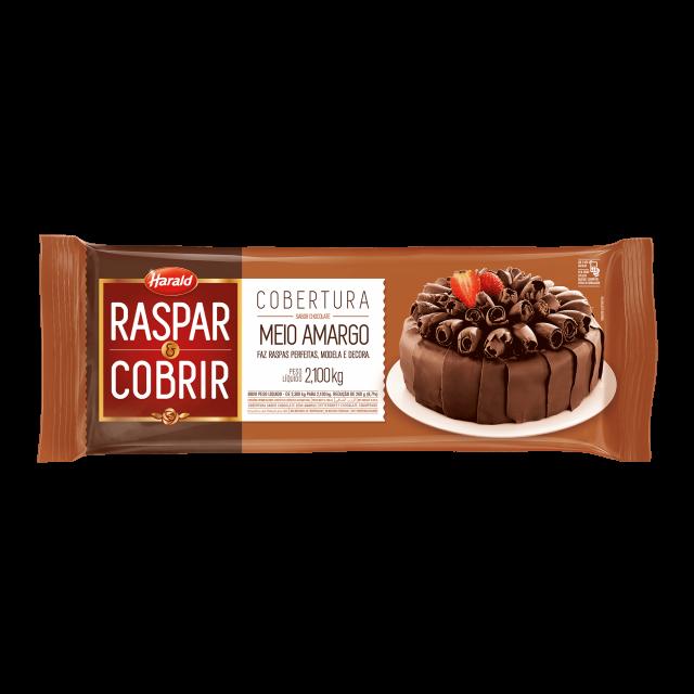 H.RASPAR E COBRIR MEIO AMARGO 2,1 KG 103441