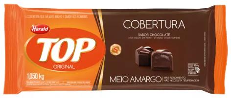 H.TOP BARRA MEIO AMARG 1.050 KG 102065