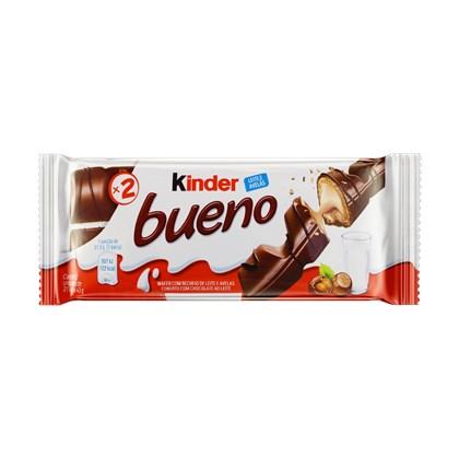 KINDER BUENO LEITE E AVELÃ 43G C/30 UNID