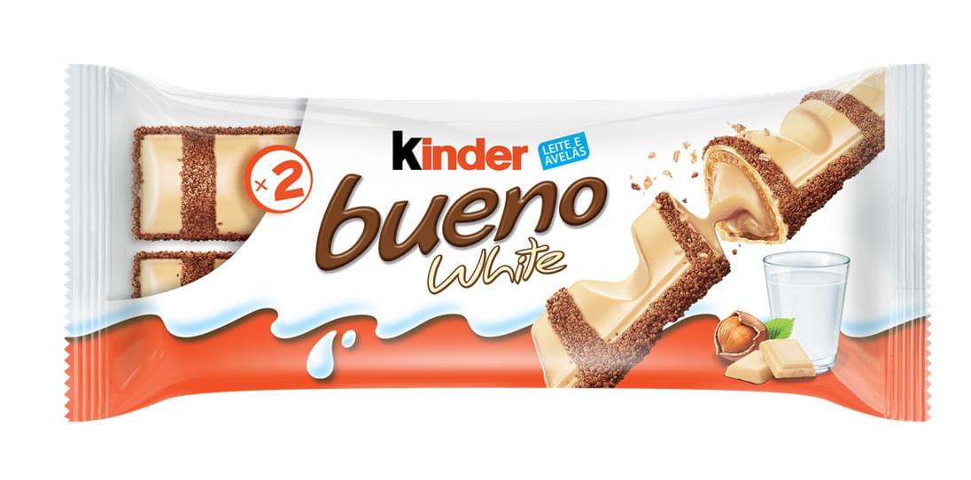 KINDER BUENO WHITE 39G C/30 UNID