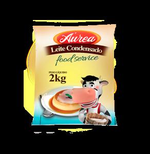 LEITE CONDENSADO AUREA 2KG