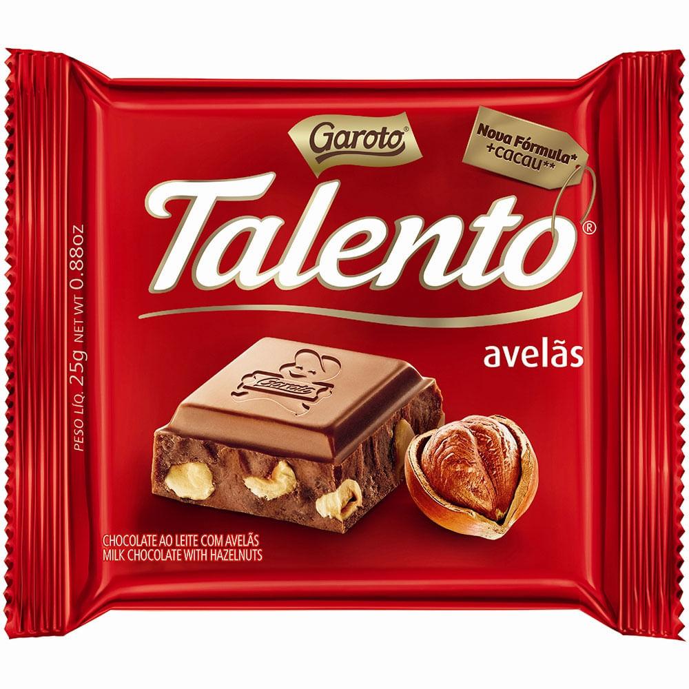 TALENTO AVELA TAB 90G C/12 UNID