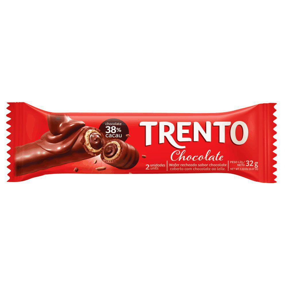 TRENTO AO LEITE  C/16