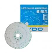 DISCO DIAGRAMA VDO 7D 125KM/H
