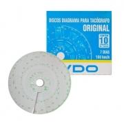 DISCO DIAGRAMA VDO 7D 180KM/H