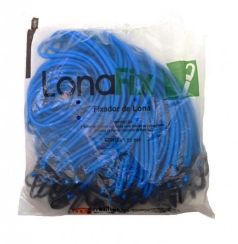 KIT LONAFIX AZUL 35CM COM 50 PCS