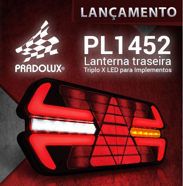LANTERNA TRASEIRA TRIPLO X 12V LED LE/LD  (PAR)