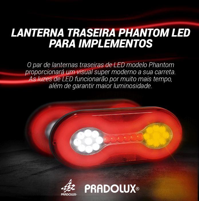 LANTERNA TRASEIRA PHANTOM LED 24V LE/LD  (PAR)