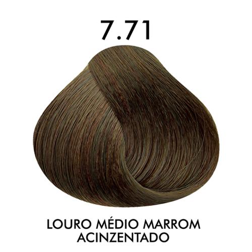 Coloração C.kamura Louro Médio Marrom Acinzentado 7.71 50 G