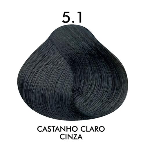 Coloração CKamura Castanho Claro Cinza 5.1 50g