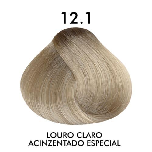 Coloração CKamura Louro Claro Acinzentado Especial 12.1 50g