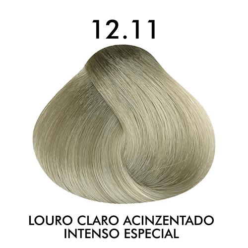 Coloração CKamura Louro Claro Acinzentado Intenso Especial 12.11 50g
