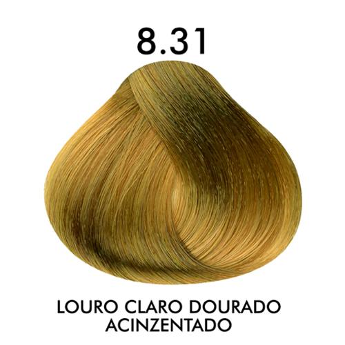 Coloração CKamura Louro Claro Dourado Acinzentado 8.31 50g