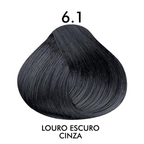 Coloração CKamura Louro Escuro Cinza 6.1 50g