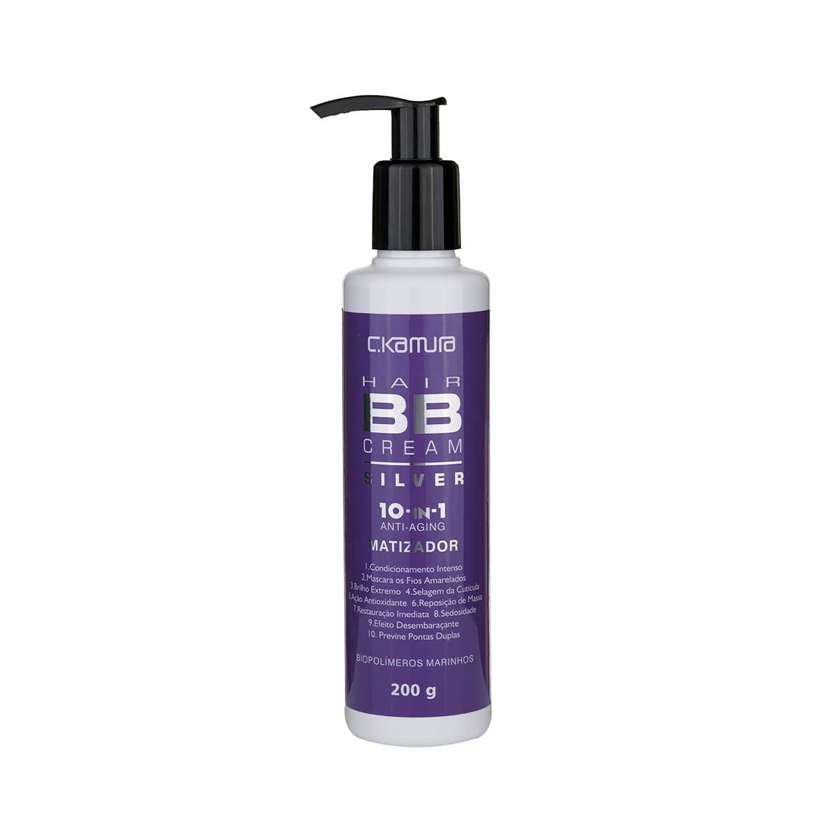 Hair BB Cream Silver 10-In-1 CKamura 200 G