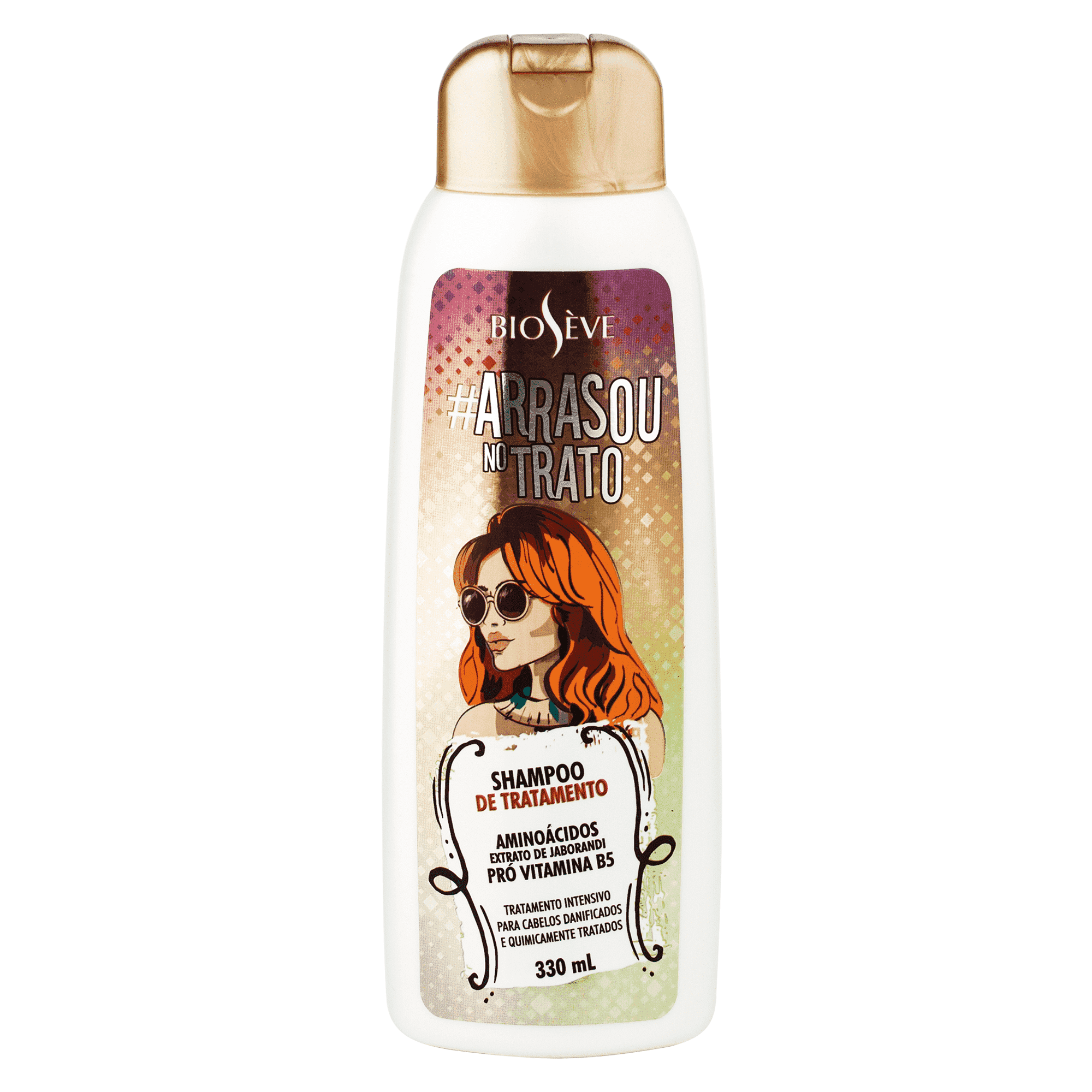 Shampoo Arrasou No Trato Bioseve 330ml