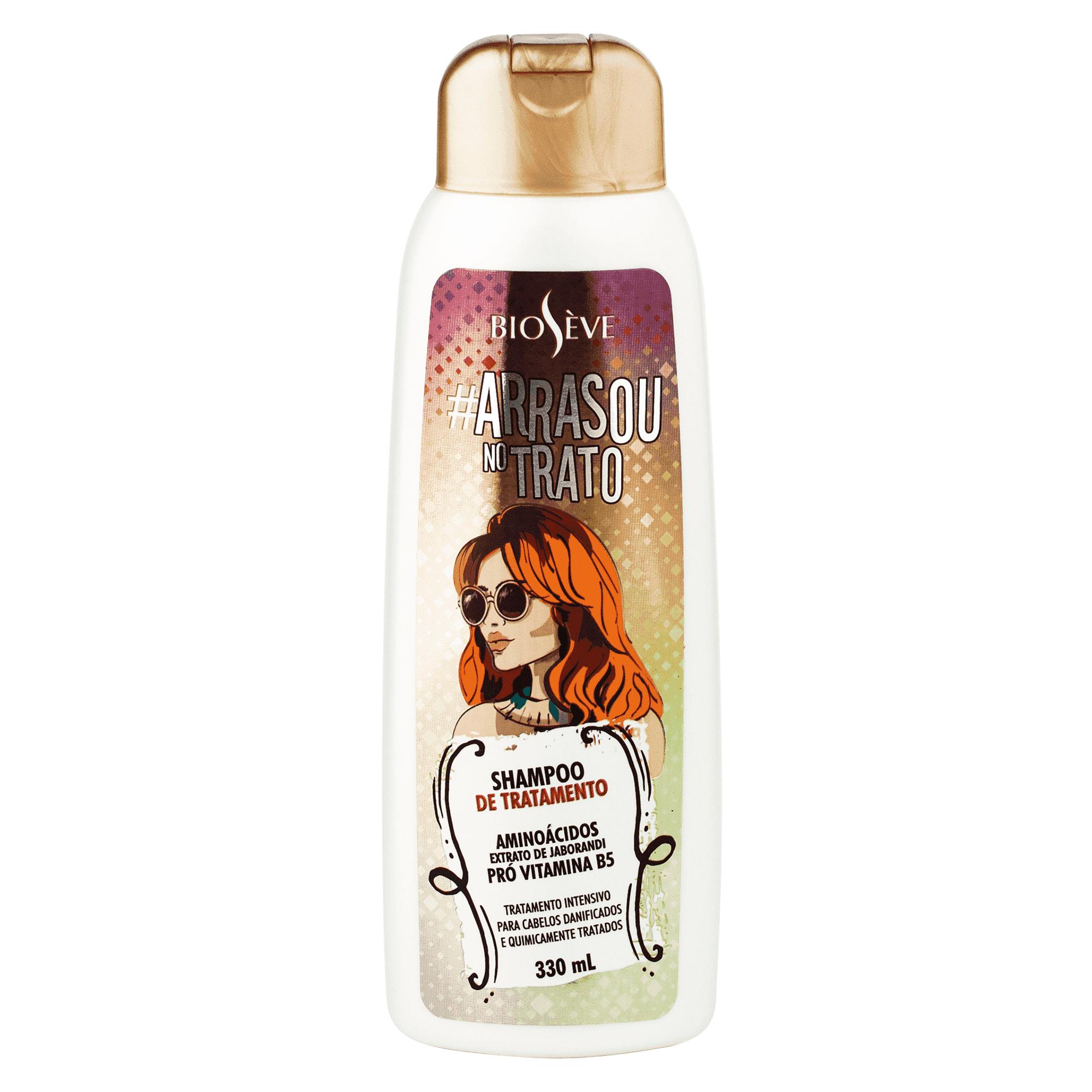 Shampoo De Tratamento Arrasou No Trato Bioseve 330 Ml
