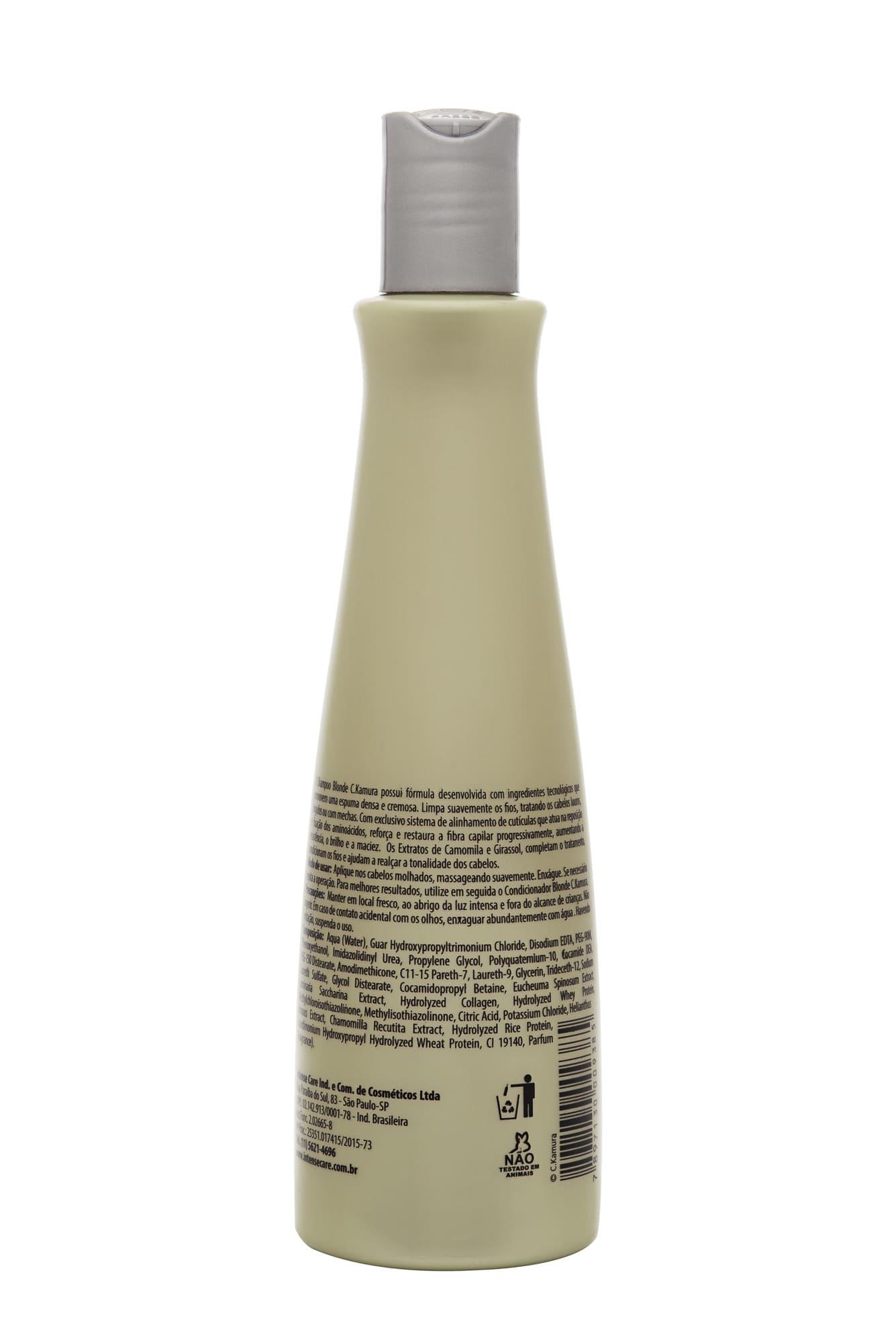 Shampoo Iluminador CKamura Blonde 315 Ml