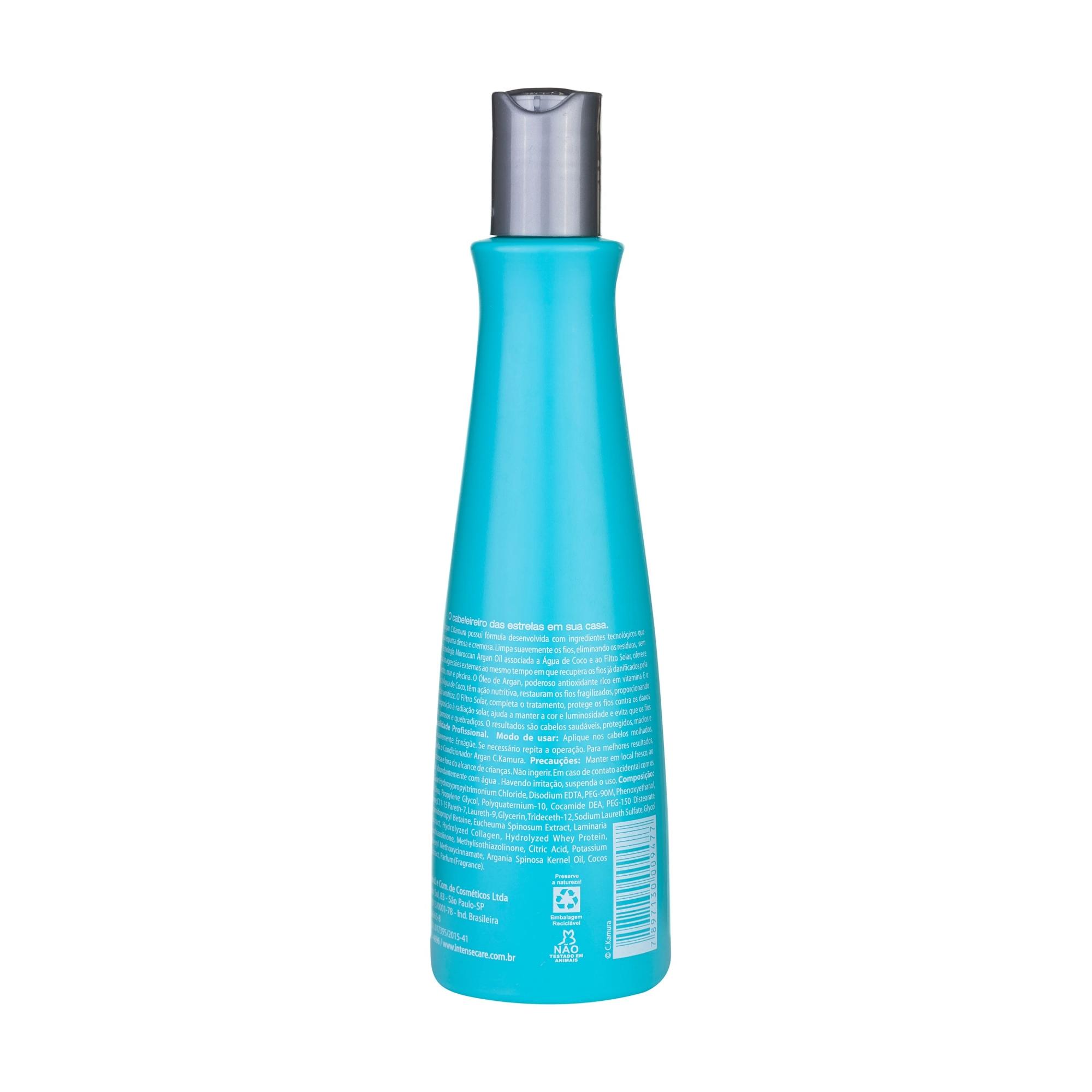 Shampoo Nutritivo CKamura Argan 315 Ml