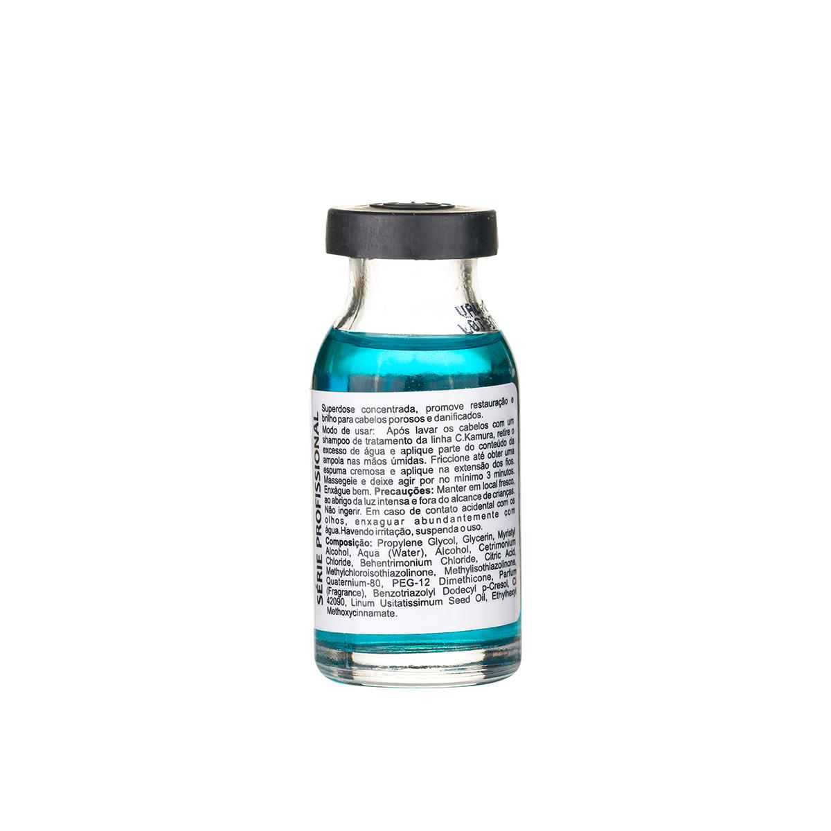 Superdose Autoaquecida Semi Di Lino CKamura Restauração Instântanea 15Ml