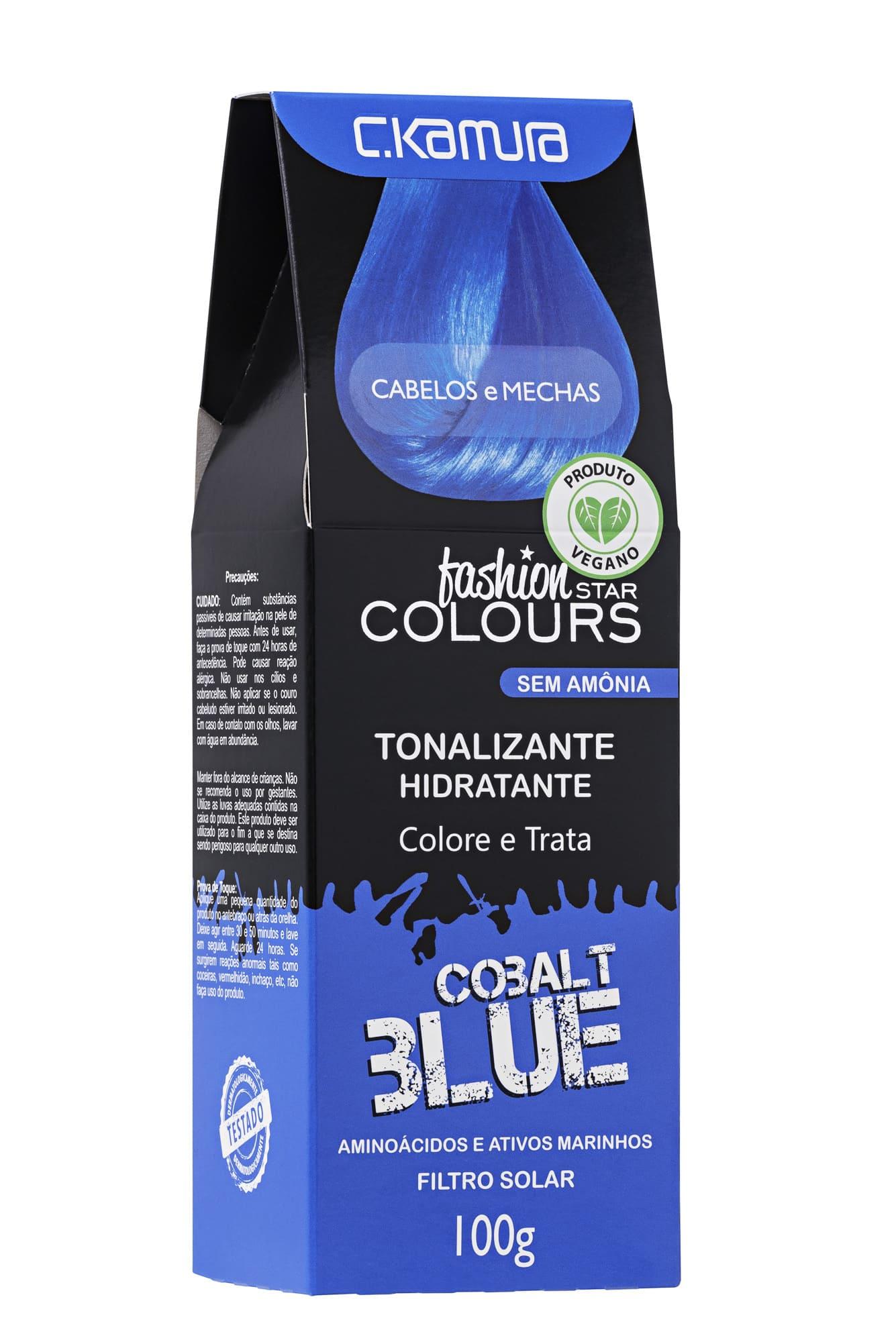 Tonalizante Cobalt Blue Azul Fashion Star Colours Ckamura