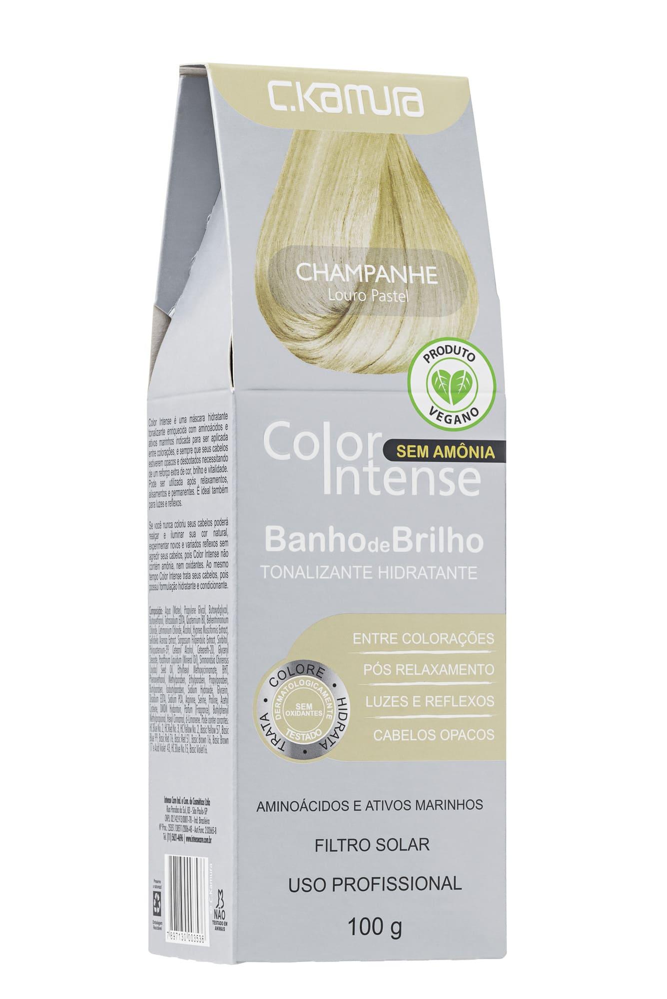 Tonalizante Color Intense CKamura Champanhe 100G