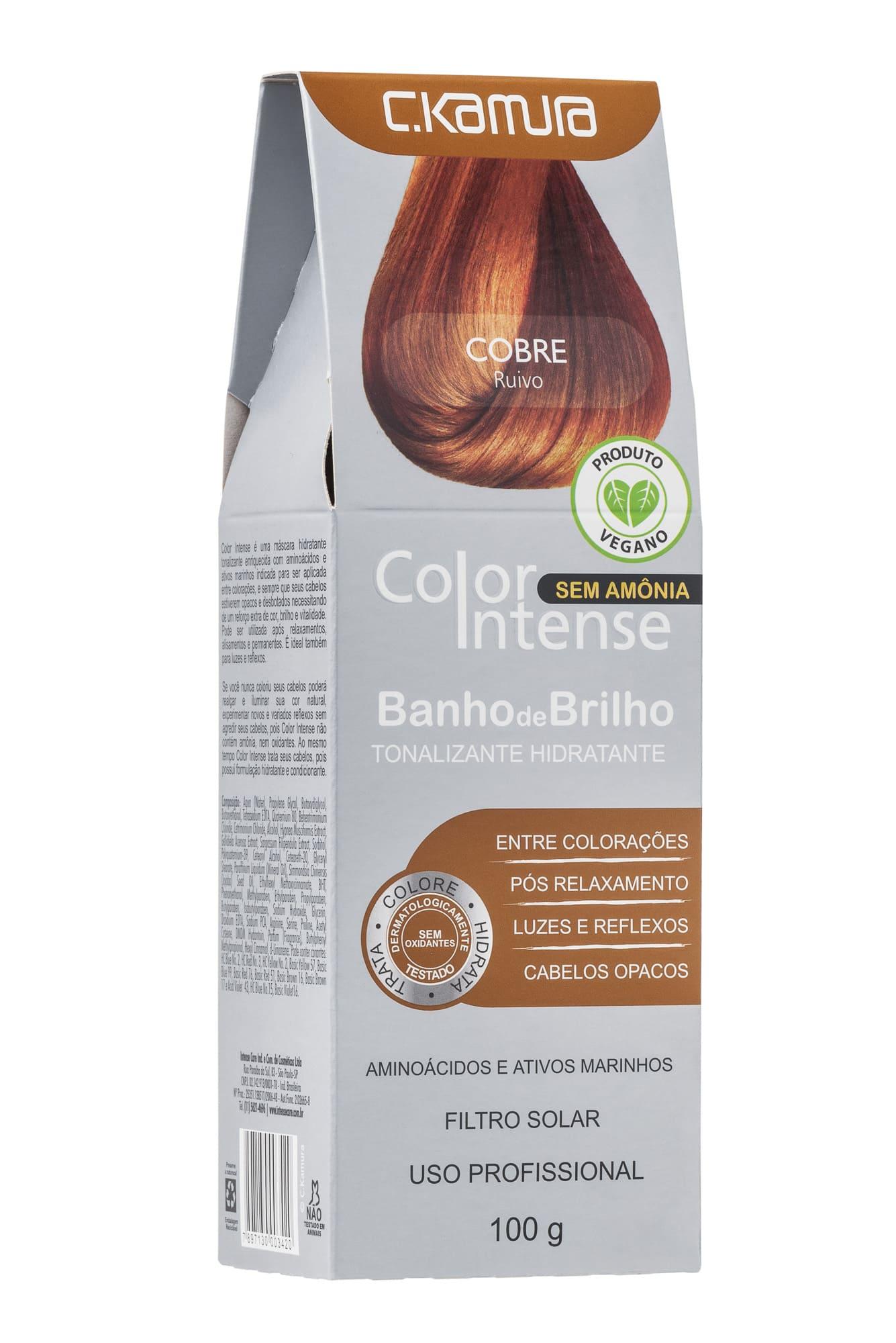 Tonalizante Color Intense Cobre Ckamura 100g
