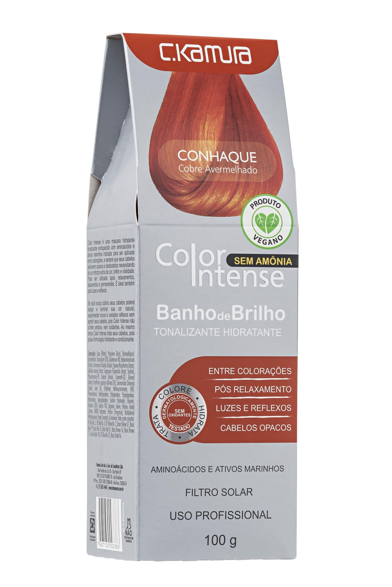 Tonalizante Color Intense Conhaque Ckamura 100g