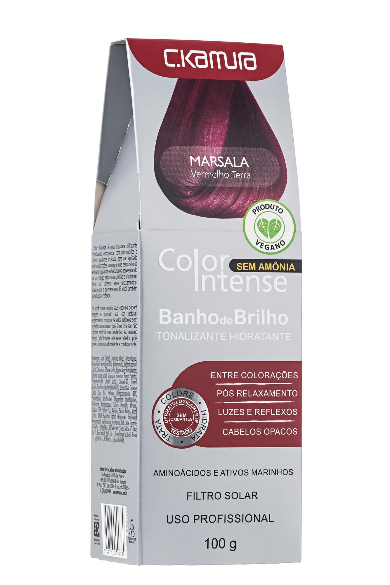 Tonalizante Color Intense Marsala Ckamura 100g