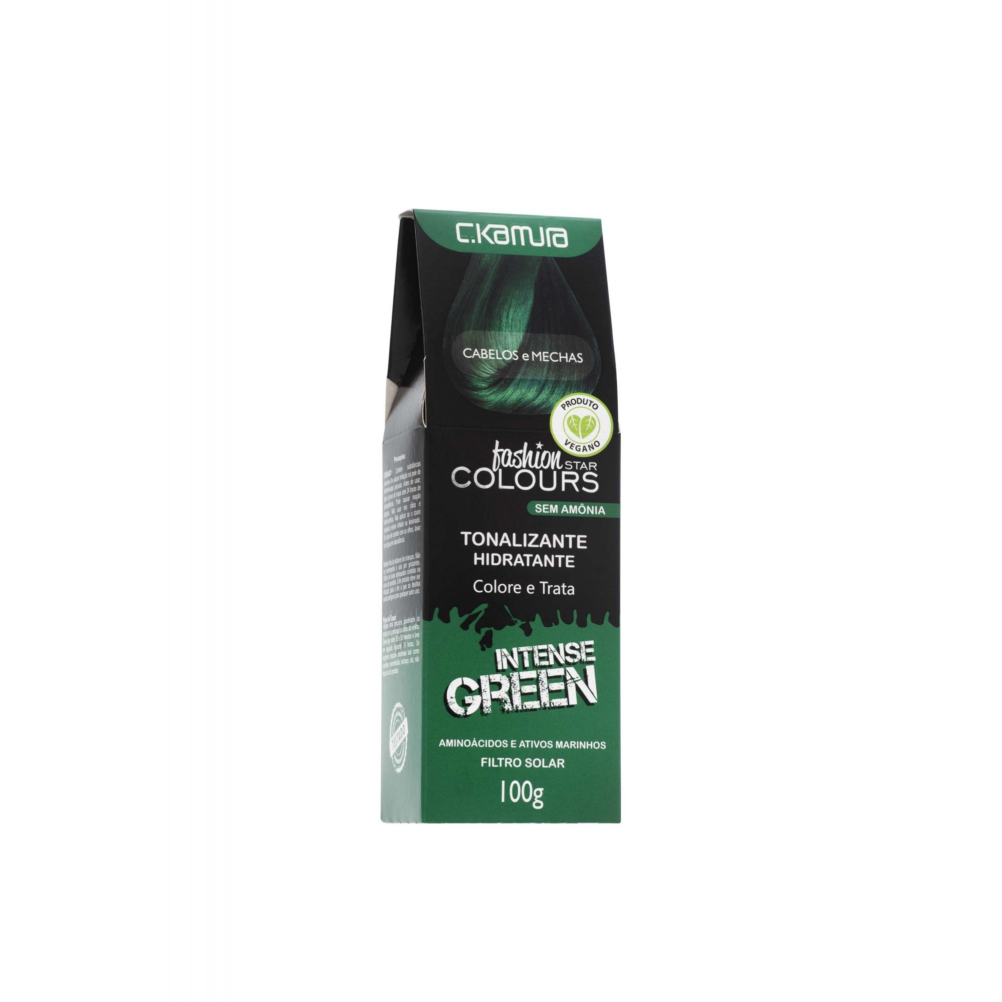 Tonalizante Intense Green Verde Fashion Star Colours Ckamura