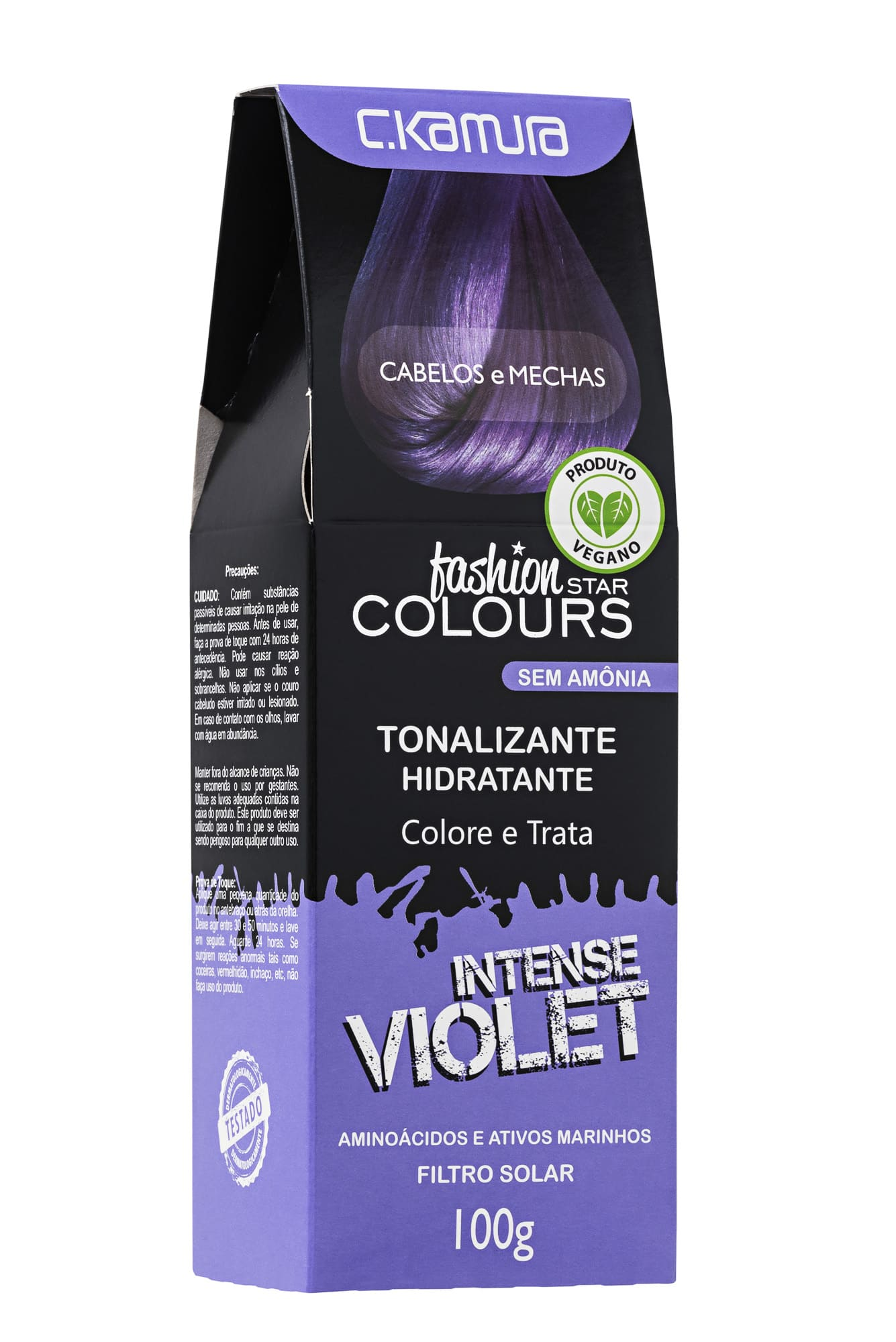 Tonalizante  Intense Violet Violeta Fashion Star Colours Ckamura