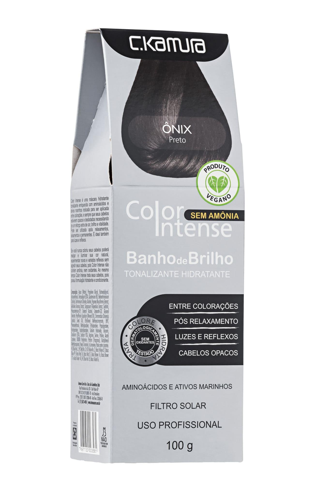 Tonalizante Onix Preto Color Intense Ckamura 100g