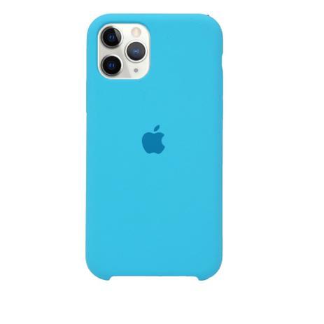 Capa de Silicone iPhone 11 - AZUL CLARO