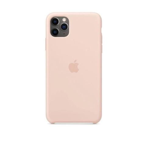 Capa de Silicone iPhone 11 - NUDE