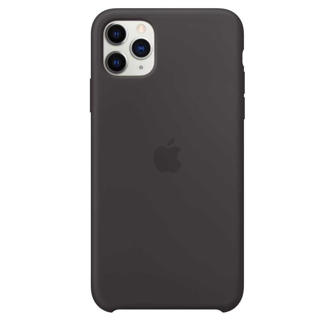 Capa de Silicone iPhone 11 - PRETO