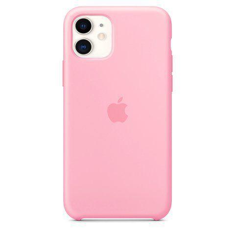 Capa de Silicone iPhone 11 - ROSA BEBE