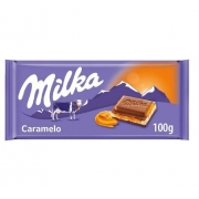CHOC MILKA CARAMEL 100G