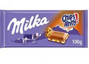 CHOC MILKA CHIPS AHOY 100G